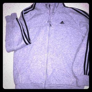 Adidas Zip-up Hoodie - Sz L